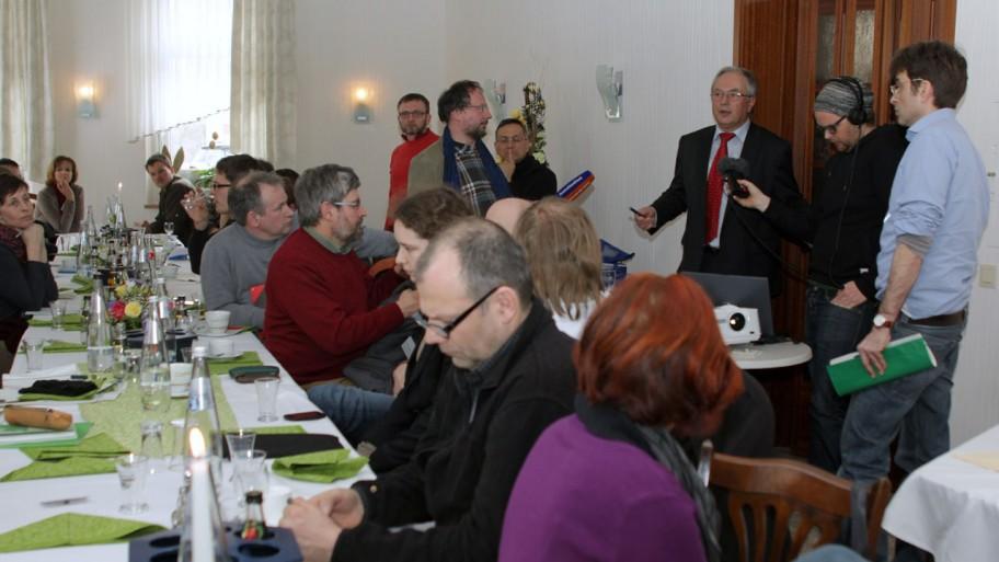 Pressereise zur Braunen Spree © Fraktion