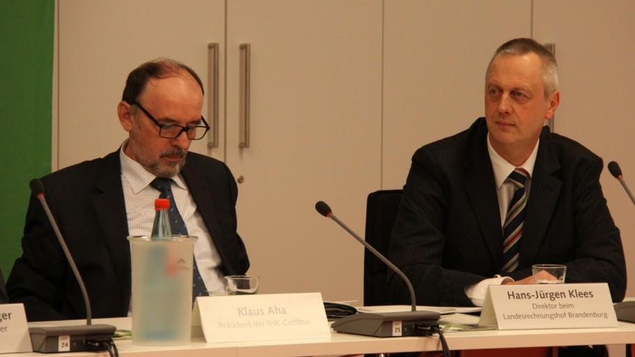 Klaus Aha und Hans-Jürgen Klees (v.l.n.r.) © Fraktion