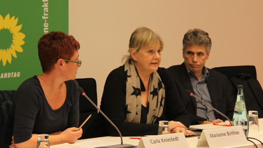 Carla Kniestedt, Marianne Birthler und Stephan Hilsberg (v.l.n.r.) © Fraktion