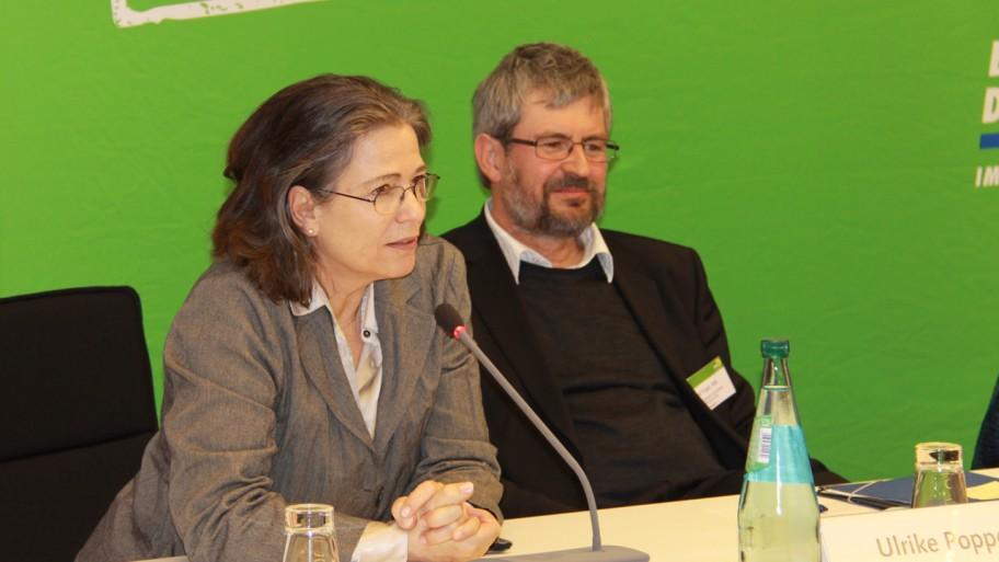 Ulrike Poppe, Axel Vogel (v.l.n.r.) © Fraktion