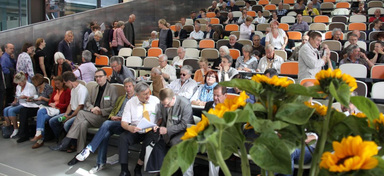 Flughafenkonferenz: Langsam füllt sich der Hörsaal © Fraktion