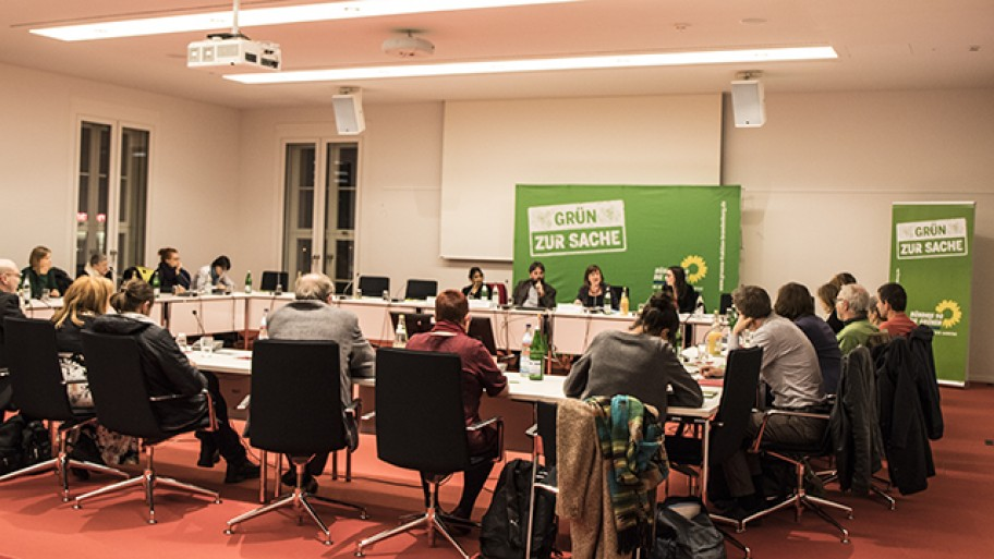 Fachgespräch zum Partizipationsgesetz, Foto: Laura Englert/Fraktion
