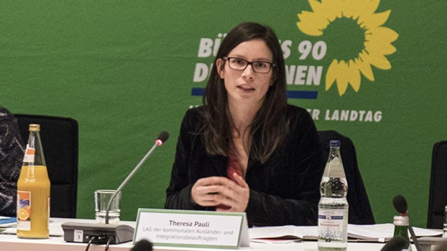 Theresa Pauli, Foto: Laura Englert/Fraktion