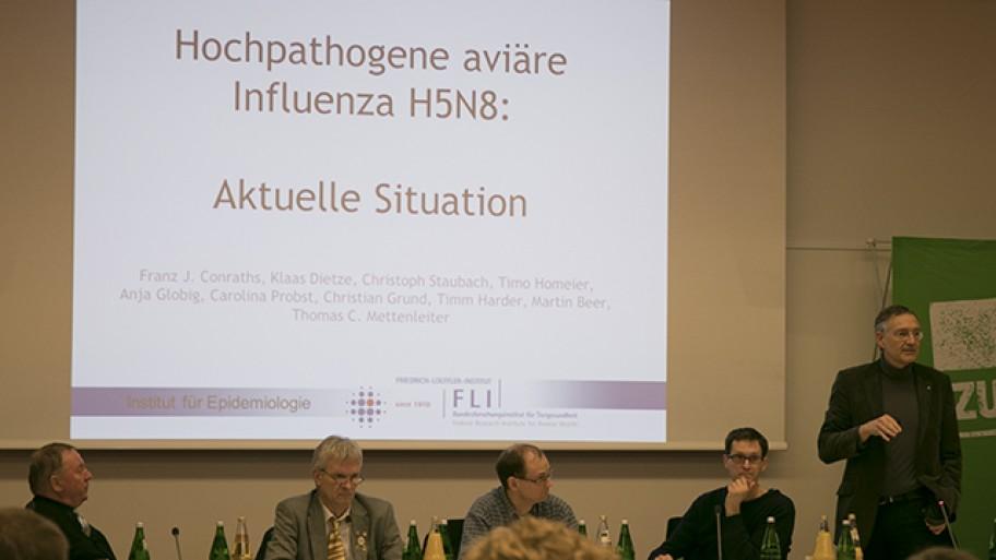 Eberhard Nakonzer, Rolf Graf, Reinhard Jung, Benjamin Raschke, Prof. Dr. Franz J. Conraths
