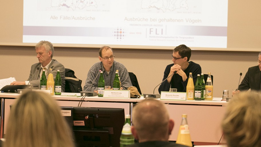 Rolf Graf, Reinhard Jung, Benjamin Raschke