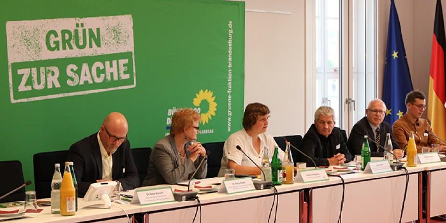 Dr. Peter Wurschi, Dr. Maria Nooke, Heide Schinowky, Roland Jahn, Rüdiger Sielaff, Foto: Alexandra Straka/Fraktion