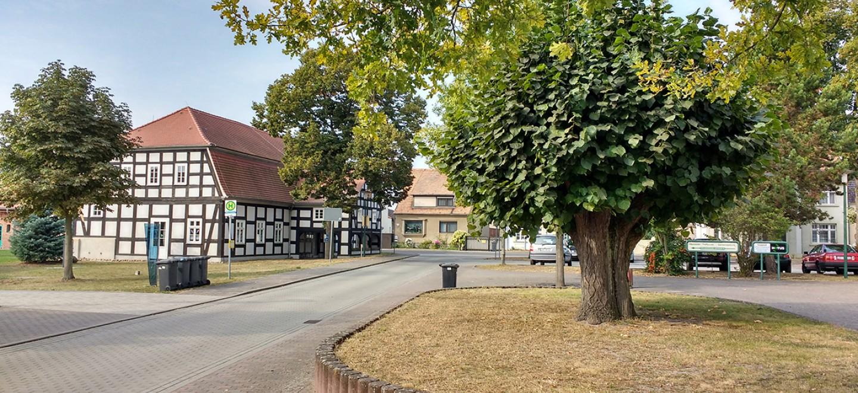 Dorfmitte Schönwalde (Spreewald) © Alexandra Tautz/Fraktion