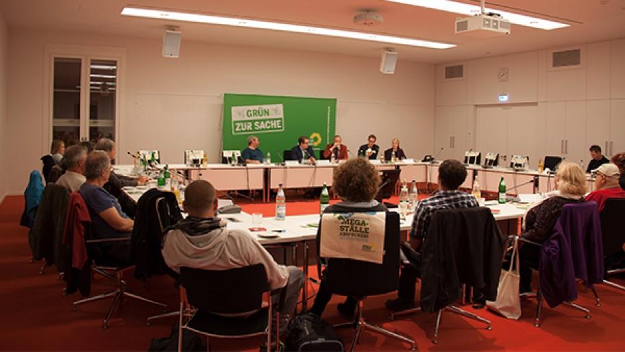 Fachgespräch Biohaltung im Brandenburger Landtag